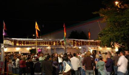 Fremont Oktoberfest Entrance