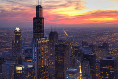 (Kevin Dickert) Tags: city nightphotography urban chicago building skyline architecture night skyscraper buildings grid downtown cityscape skyscrapers dusk searstower fromabove explore highrise canon5d bluehour lookingdown hdr highdynamicrange downtownchicago nightfall citygrid aoncenter flickrexplore blueperiod urbanchicago abovestreetlevel cityscrape willistower nightgrid iamhydrogen kevindickert