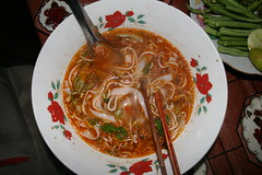 dinner in Luan Prabang (Misa84) Tags: travel food dinner lunch honeymoon laos cena viaggio cibo vacanza pranzo lunadimiele hipbotunsquare