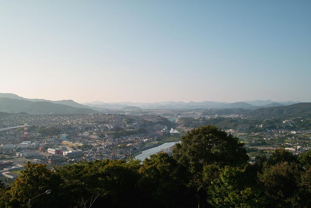 North view from Satsukiyama@Ikeda City