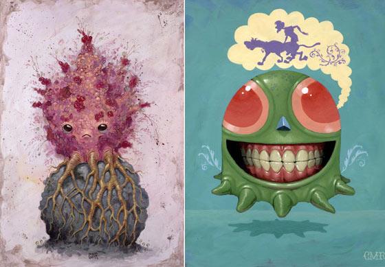 pinturas_esculturas_criaturas