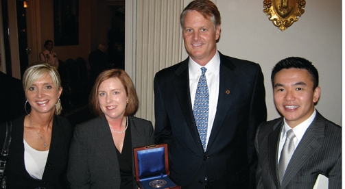 John Donahoe with awarded sellers by ebayink, on Flickr