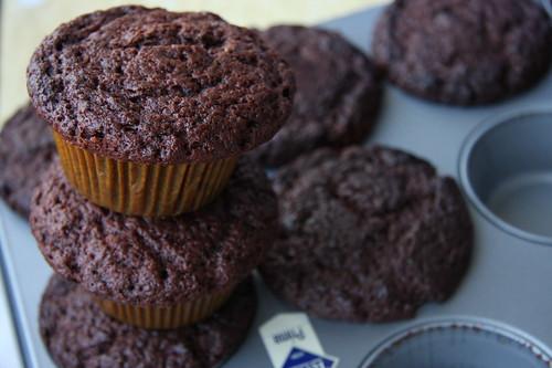 çikolatalı kurabiye muffin