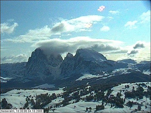 Webcam Siusi 4_10_08