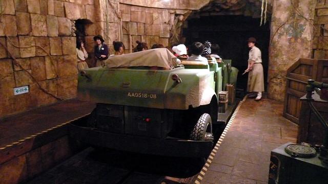 Jeep, Indiana Jones, Tokyo Disneysea, Tokyo, Japan.JPG