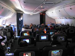 Avión Delta Madrid - México