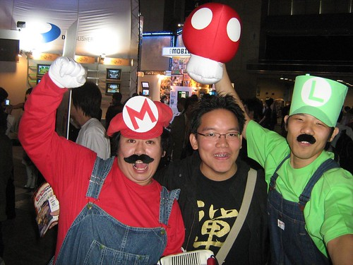 Me and the Mario brothers