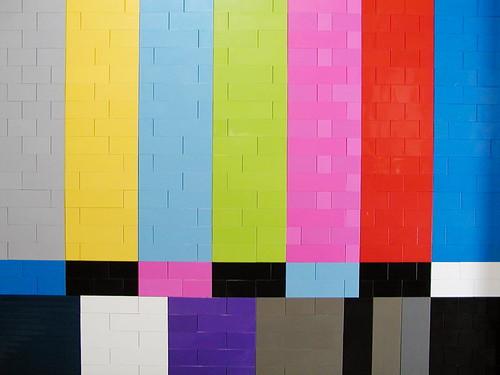 "06 - NTSC color test pattern by ""Big Daddy"" Nelson"