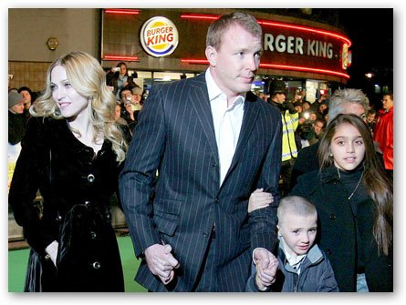 Madonna and Guy Ritchie Family