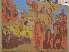 Mural on the side of the Bialystoker Home for the Aged by Salim Virji, on Flickr