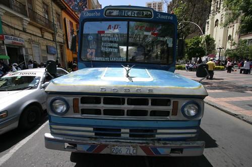 La Paz city bus...