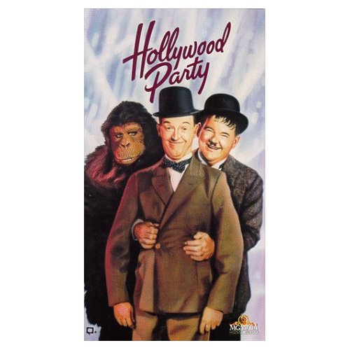 Hollywood Party VHS cover