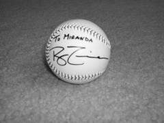Signed Baseball 2