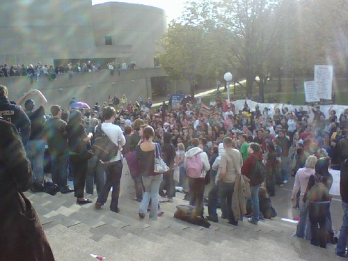 Crowd Scene, 10/7/08