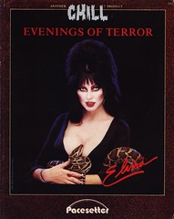 Evenings of Terror with Elvira front cover
