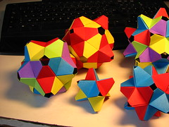 Modular origami : the collection so far