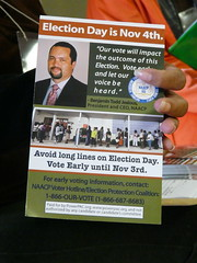 """Vote Today!"" Flyer"