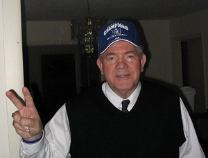 Pastor Weeks in his Duke hat