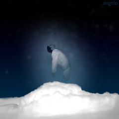 My last breath (olu) Tags: sky selfportrait night clouds photoshop soul lastbreath