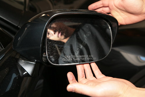 Having Difficult Changing Side Mirror Puddle Light Bulb