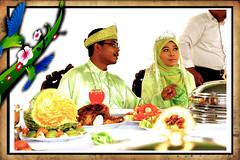 bertandang10 (Maziah Stapah) Tags: wedding eat makan