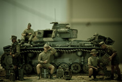 We can relax. Obama is in the (White) House. (Chris Farrugia (chrisfarrugia.net)) Tags: usa afghanistan war tank president iraq soldiers obama troops fav10 epiceditsselection