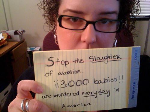 Mujer apoya a Obama