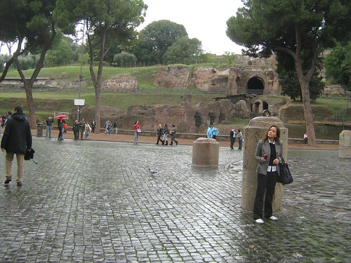 Ida Nerina at the Colosseum