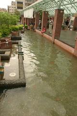 湯圍溝公園:泡腳池