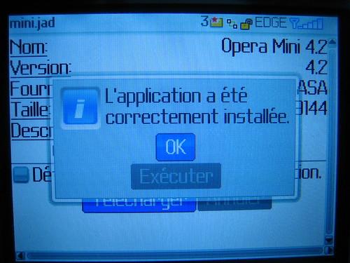 Télécharger et installer Opera Mini sur Blackberry Curve 8310 04