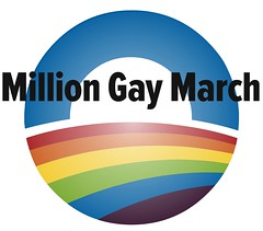 million gay march, slightly improved