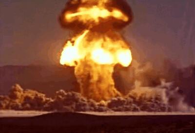 Atomic bomb animated gif