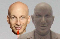 Seth Godin Action FIgure Head Sculpt Comparison