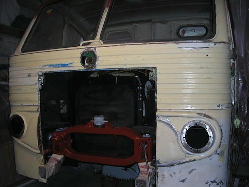 Frontal d'un Pegaso 1061
