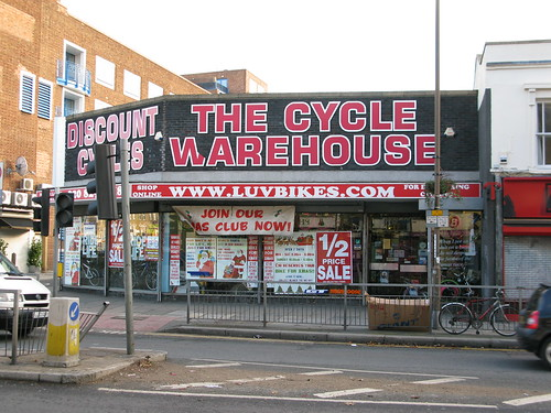 Cycle Warehouse, Greenwich