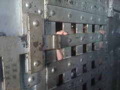 Locked in the Chase County Jail!