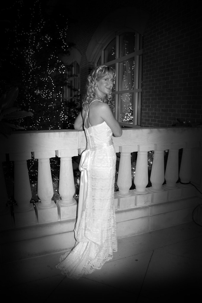 Tracy wedding DSC01195 bw
