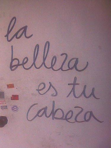 la belleza es tu cabeza, barcelona
