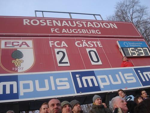 FC Augsburg gegen FC Hansa Rostock