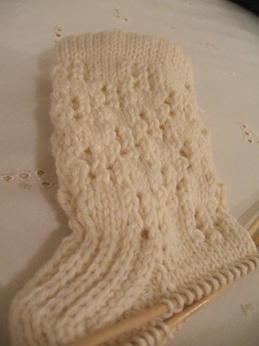 Snowish socks
