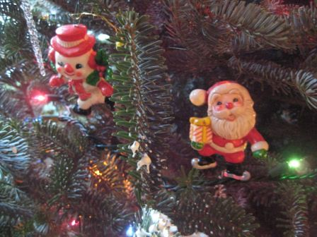 'vintage' ornaments