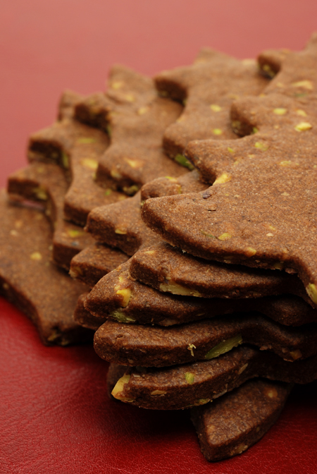 Chocolate and Pistachio Cookies© by Haalo
