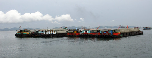 Barges - Sri Racha, Thailand