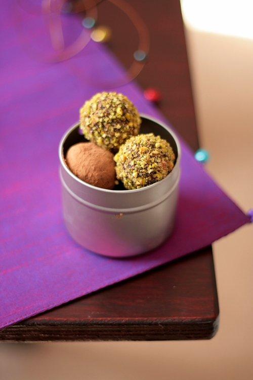 Lavender And Espresso Truffles