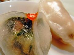 dumpling12 冬茸帯子餃(冬瓜と貝柱の蒸し餃子)