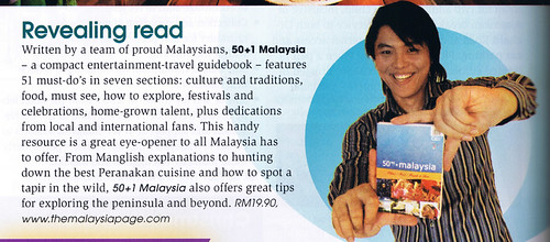50+1 malaysia book review, the finder