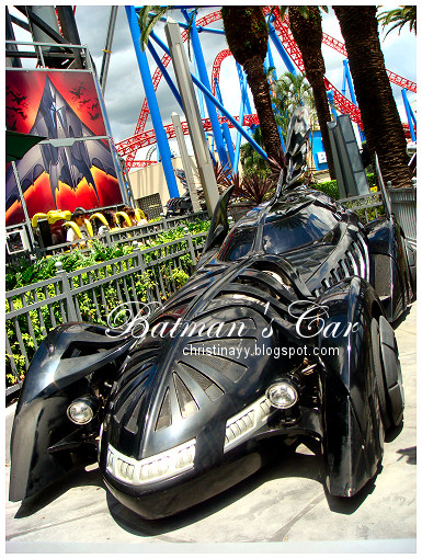 Warner Bros. Movie World: Batman's Car
