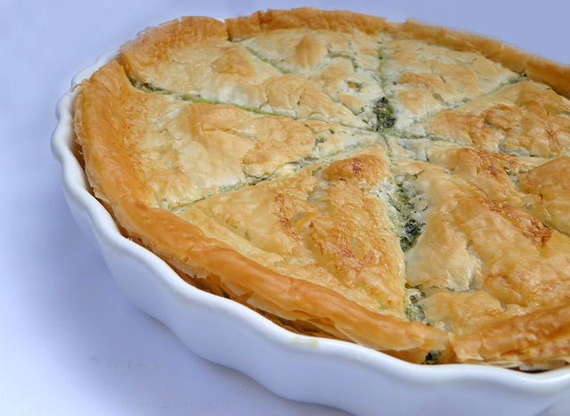 Chicho's Kitchen: Greek Spinach Pie - Spanakopita