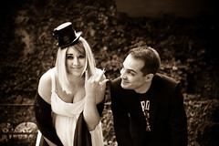 Wedding day, H-1! ( Fufue ) Tags: wedding white hat rock dark happy tim nikon geneva burton wooooocongratulations