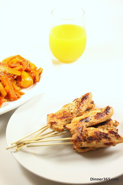 Day 174 - Chicken Satay